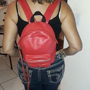 Rebecca Minkoff Mini M.A.B Leather backpack